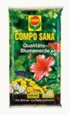 Compo Sana 20 Liter Qualitäts-Blumenerde für Zimmer- und Balkonpflanzen, Universalblumenerde für bis zu 8 Wochen Nährstoffversorgung, lockere und luftige Struktur, Art.-Nr. 1114204 - 1