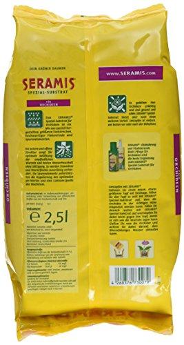 Seramis Ton-Granulat für Orchideen, Spezial-Substrat, 2,5 Liter - 2