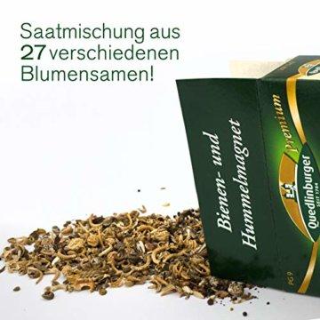 Quedlinburger Hummelmagnet Saatgut für 100 qm Bienenwiese, einjährige Bienen Blumenmischung - 4