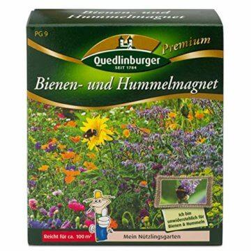 Quedlinburger Hummelmagnet Saatgut für 100 qm Bienenwiese, einjährige Bienen Blumenmischung - 1